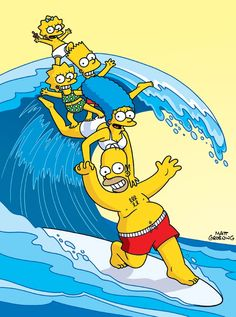 Learn more about the Simpsons Surfing Postcard at the hobbyDB database Simpsons Drawings, Simpsons Cartoon, Simpsons Characters, Simpson Wallpaper Iphone, Cartoon Wallpaper Iphone, Cute Disney Wallpaper, The Simpsons Wallpapers, Cute Wallpapers, Wallpapers Android