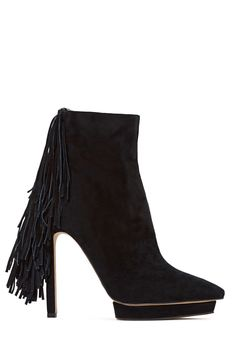 Jeffrey Campbell Sampson Leather Boot | Shop Booties at Nasty Gal