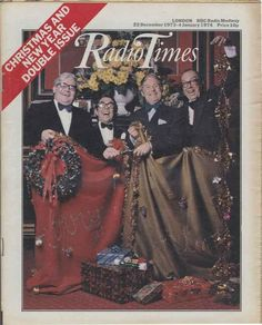 For many, the Christmas 'Radio Times' is a tome of wonder during the festive period. Take a look at how times have changed with Christmas covers spanning 90 years. Christmas Comics, Christmas Past, Vintage Christmas, Radio Usa, Advent Season, Christmas Cover, Twelfth Night, My Childhood Memories, 1970s Childhood