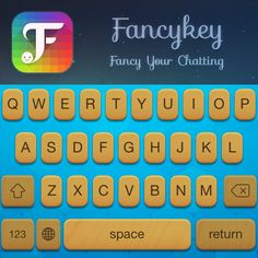 Don't just stare at my new theme! Go design yours! Download @Fancykey  http://dl6.fancykeyapp.com #Fancykey