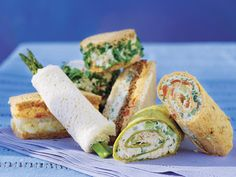 Favorite Finger Sandwiches for a Luncheon | SouthernLiving