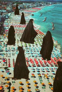 Freedom Of Choice. Surreal Mixed Media Collage Art By Ayham Jabr.
