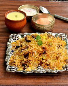 Pakistani style mushroom biryani recipe-Ramzan special biryani recipe