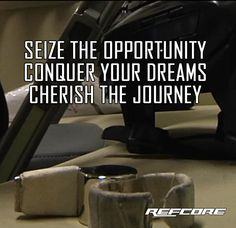 Seize the opportunity. Conquer your dreams. Cherish the Journey™ REFcore™ referee
