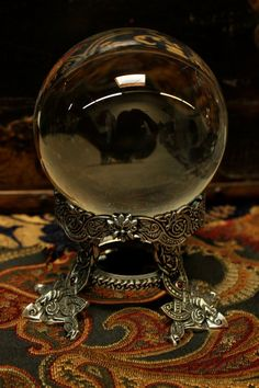Celtic Seer Crystal Ball. No home should be without one.