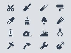 """Tools"" in Icon Design"