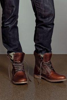 Les Work Boots Montantes, la tendance homme qui monte ! – Mode masculine
