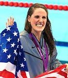 Missy Franklin is only 18, yet she is a renowned swimmer who won four gold medals in the last Olympic Games.