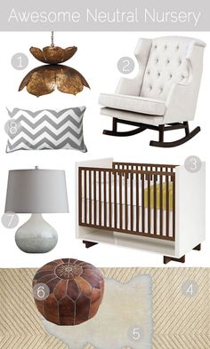 Stylish and Sophisticated Nurseries