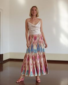Tie Dye Skirt, Skirts, Shopping, Vintage, Fashion, Moda, Fashion Styles, Skirt