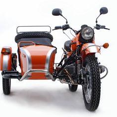 2012 Orange Ural Patrol - MY FUTURE WHEELS, Y'ALL.  Must save my money.