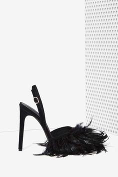 Jeffrey Campbell Pajaro Feather Heel