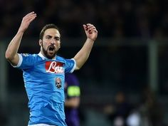 Napoli striker Gonzalo Higuain hit with four-match ban for red card reaction