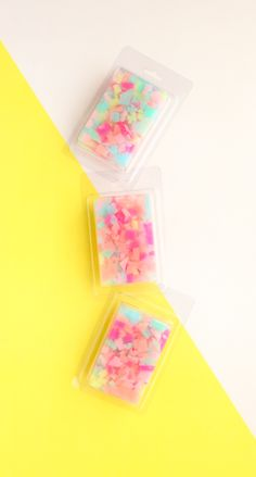 It's been a while since my last soap tutorial, so I have been thinking up a few easy soap tutorials to share with you all. This confetti fi...