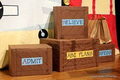More Decorating Ideas for Journey Off The Map | Grace Fellowship ...