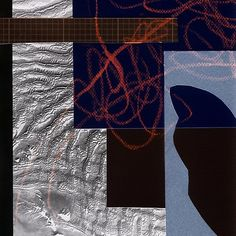 dark collage with map