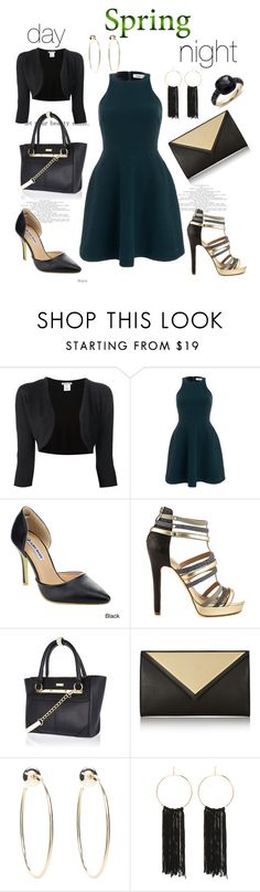 """""""Untitled #2828"""" by janicemckay ❤ liked on Polyvore featuring Oscar de la Renta, Elizabeth and James, Nicole Miller, River Island, Givenchy, Bebe and Pomellato"""