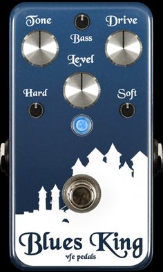 VFE Pedals | Boutique & Custom Effects | Blues King overdrive pedal