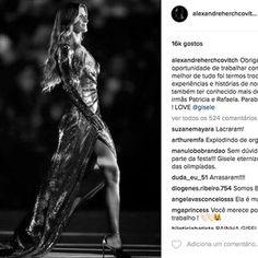 リオ五輪開会式でジゼルが一晩限りのモデル復帰ドレスはブラジル人デザイナー