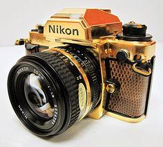 Gold Nikon FA