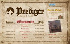 PREDIGER BAR – Das XI. Gebot: Du sollst keine andere Bar neben mir haben.