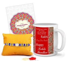 Rakhi Wishes Gift Idea Gift For Raksha Bandhan, Raksha Bandhan Wishes, Raksha Bandhan Images, Rakhi For Brother, Gifts For Brother, Rakhi Wishes, Coffee Mugs Online, Wish Gifts, Happy Rakshabandhan