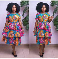 Look no further, here's the complete 2018 Most Creative Ankara Styles And Designs African Fashion Ankara, Latest African Fashion Dresses, African Dresses For Women, African Print Fashion, Africa Fashion, African Attire, African Tops, African Style, African Women
