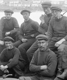 Shetland Pattern Gansey Sweaters - British Made Clothing | Fishermans Knitwear