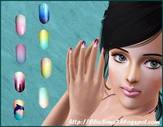 Sims 3 Finds - Nails nr.14 at Clio Sims 3