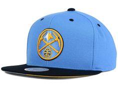 buy online 548cf 151d9 Denver Nuggets Mitchell   Ness Snapbacks, Nuggets Snapback Hats, Mitchell    Ness Flat Billed Hat