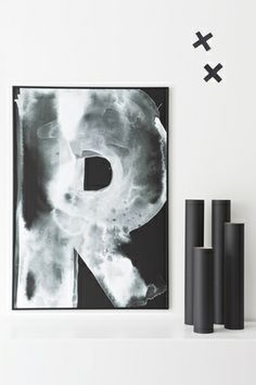 Print - R black Photo Helena Blom