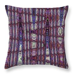 """Boat In The Forest Abstract Throw Pillow by Tom Janca.  Our throw pillows are made from 100% spun polyester poplin fabric and add a stylish statement to any room.  Pillows are available in sizes from 14"""" x 14"""" up to 26"""" x 26"""".  Each pillow is printed on both sides (same image) and includes a concealed zipper and removable insert (if selected) for easy cleaning."""