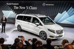 New Mercedes-Benz V-Class - Super Luxury MPV