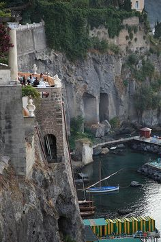 Marina Piccola, Sorrento, Italy -one of my fsvorite southern towns. Sorento Italy, Costa, Isle Of Capri, Italy Vacation, Sorrento, Positano, Amalfi Coast, Naples, Places To See