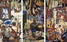 almada negreiros pinturas   Galeria & Photomaton: Emigração na expressão artística e ...