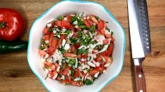 How to make Pico de Gallo salsa recipe. Quick, easy pico de gallo salsa that the entire family will enjoy. Great on a Clean Eating or Whole 30 meal.