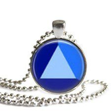 Steven-Universe-Sapphire-1-inch-Silver-Plated-Picture-Pendant-Necklace