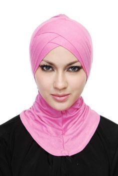 Women Hijab Cap Bonnet Full Cover Cotton Inner Under Scarf