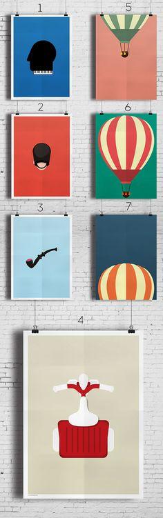 Grafiske plakater fra Wonderhagen
