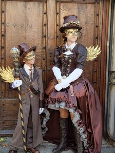 Steampunk Fashion Is a term that you probably already met in recent years through your Internet travel. But what is the steampunk style? Moda Steampunk, Design Steampunk, Steampunk Couture, Steampunk Pirate, Style Steampunk, Steampunk Wedding, Victorian Steampunk, Steampunk Clothing, Victorian Fashion