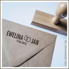 Stempel ślubny 5 - Stylowo ( na drewnianym uchwycie ) » LEMONADE Scrapbooking, cardmaking, papercrafts
