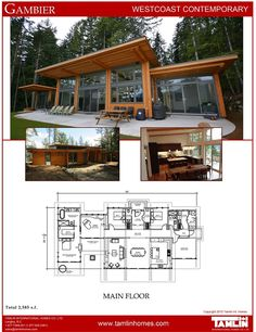 Plans Browse our prefab house plans here. Contemporary and Traditional, West Coast Style Homes, Post and Beam and Timber Frame. Full customization available.Browse our prefab house plans here. Contemporary and Traditional, West Coast Style Homes, Post and Modern House Plans, Small House Plans, Modern House Design, House Floor Plans, Small Contemporary House Plans, Contemporary Homes, Plan Chalet, Modern Mountain Home, A Frame Cabin