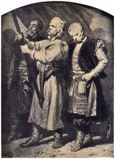 Warszawa 1. Szlachta i chłopi. Artur Grottger Poland History, Military, Costumes, Painting, Image, Art, Historia, Fotografia, Poland