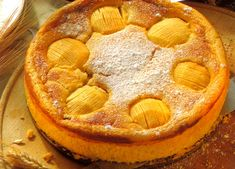 Quark Apple Cheesecake - Original German Recipes Best German Recipes and German Food - Oma makes the best.