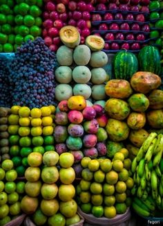 Tropical fruits..