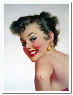 1950 HAIR STYLES IMAGES | Best 1950s pin-up girl hair styles and hair cuts