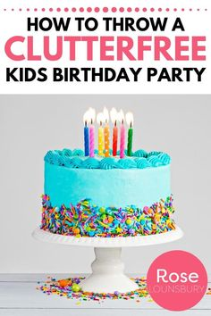 If you think having a simpler or minimalist birthday party might be right for your family, you'll love this article! Tips for simplifying birthdays with kids. Birthday Bash, Birthday Parties, Minimalist Parenting, Flavored Toothpaste, Kids Bedroom Organization, Simple Gifts, Parenting Hacks, Fun Activities, Sweet Treats