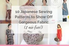 10 Japanese Sewing Patterns (1)