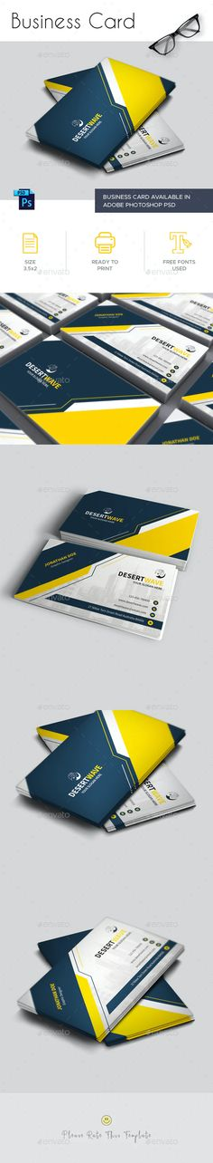 Business Card by Desertwave | GraphicRiver