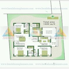 3 Bedroom Contemporary Traditional Mix Home in 31 Lakhs with Free Plan - Free Kerala Home Plans Bedroom House Plans, House Floor Plans, Contemporary Bedroom, Modern Bedroom, Kerala Traditional House, Model House Plan, Room Door Design, Kerala House Design, Kerala Houses